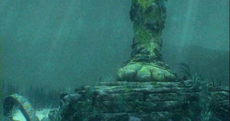 lost ilha submergida