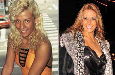 Carla Perez Antes e Depois