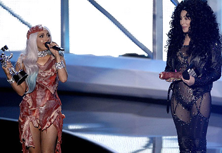 Lady Gaga e Cher MTV Awards
